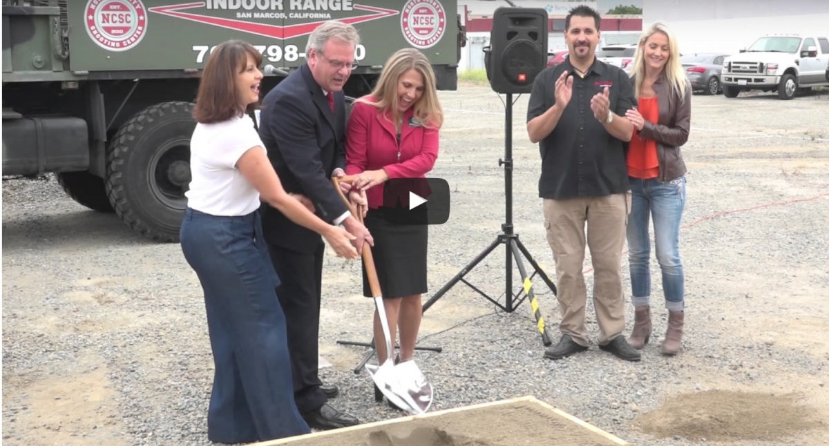 North County Shooting Center Ground Breaking